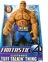 "13"" Fantastic Four Electronic Tuff Talkin Thing Figure"