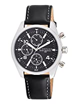 Giordano Analog Black Dial Men's Watch - 1684-01