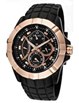 Seiko Rose Gold-Tone Chronograph Mens Watch Srl072