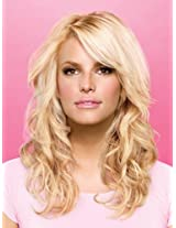 "20"" Styleable Soft Waves Hair Extensions by Jessica Simpson hairdo R2 AD"