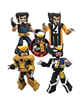 2013 SDCC PX EXCLUSIVE Diamond Select Toys Marvel: Wolverine Saga Minimates Box Set - 4 Pack