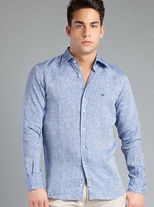 Caramelo Camisa Trew (Azul)