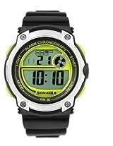 Sonata Digital Black Dial Men's Watch - 77005PP01J