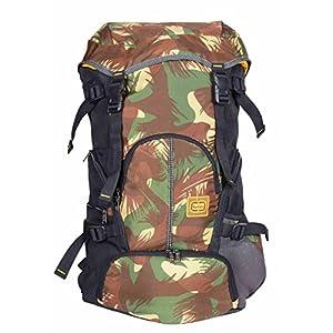 "TLC Unisex Polyester Summitter Laptop 15.6"" Trekking Backpack Bag Jungle"