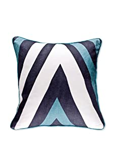 AphroChic The Vibe Pillow (Cerulean/White)