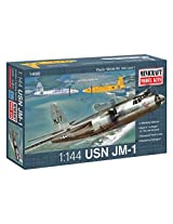 Minicraft JM-1 USN with 2 Marking Options Model Kit, 1/144 Scale