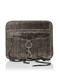Rebecca Minkoff Women's Mac Leather iPad Case (Bronze)