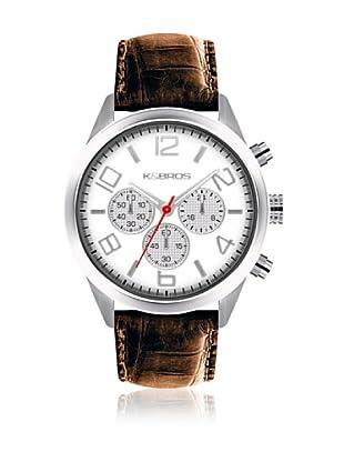 K&BROS Reloj 9484 (Blanco)
