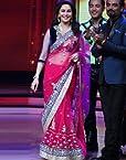 Madhuri Dixit In Jhalak Pink Bollywood Replica Saree