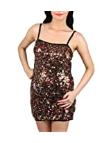 Sequins Backless Clubbing Dress, NG2199-Gold