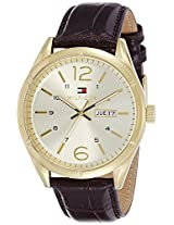 Tommy Hilfiger Analog Gold Dial Men's Watch - TH1791059J