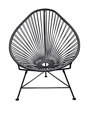 Innit Designs Acapulco Chair, Grey/Black