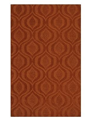 Dalyn Tones Geometric Wool Rug, Pumpkin (Pumpkin)