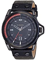 Diesel End-of-Season Rollcage Analog Black Dial Men's Watch - DZ1728