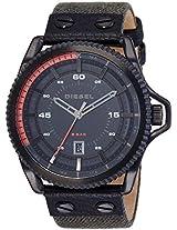 Diesel Rollcage Analog Black Dial Men's Watch - DZ1728