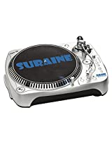 Suraine SBT-25 DYNAMIC Turntable with USB/SD/MP3 and Vinyl to MP3 Encoding with Audio-Technica Magnetic cartridge (Silver)