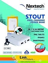 Nextech PB1050 - STOUT Dual Charging Power Bank 10400mAh Samsung Cells