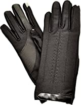 ISO Isotoner Women's SmarTouch Touchscreen Gloves Black Med/ Large