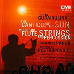 Canticle of Sun / Music Flute String & Percussion