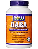 Now Foods, GABA, Powder, 6 oz (170 g)
