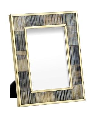 Mela Artisans Inlaid Bone Zambia Photo Frame, 5