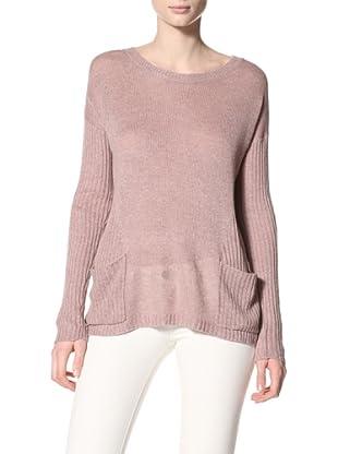 Acrobat Women's Patch Pocket Sweater (Putty)