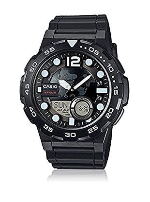 Casio Reloj con movimiento cuarzo japonés Man Aeq-100W-1A 52.5 mm