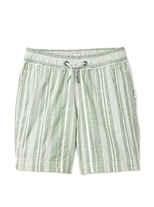 Onia Boy's Charlie Trunks (Green Stripe)