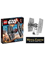 Lego Star Wars 75101 Special Forces Tie Fighter Set With 3 D Model Bundle