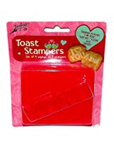 Valentine Toast Stampers, 2 Pieces