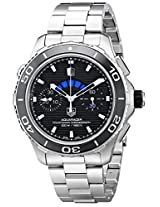 TAG Heuer Men's CAK211A.BA0833 Analog Display Automatic Self Wind Silver Watch