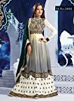 Preetika Rao Embroidered Off White Floor Touch Anarkali Suit