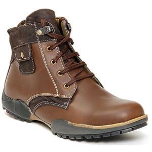 Bacca Bucci Brown Men Boots 5000