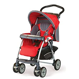 Chicco Cortina Stroller Fuego USA (Red)