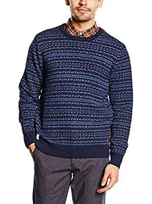 Dockers Pullover Two Color Fair Isle