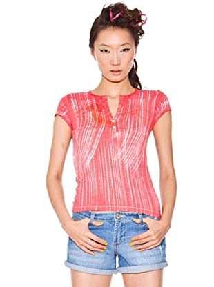 Custo Camiseta (Rojo / Blanco)