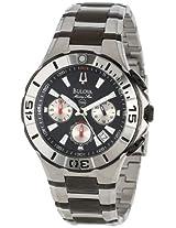 Bulova Mens 98B013 Marine Star Divers Chronograph Watch
