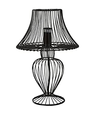 Lámpara Mesita Negra