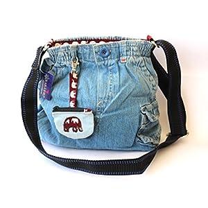 Karaashilp Jumbo Hipster Denim Bag