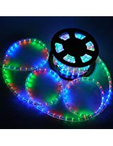 BestEkart A To Z Traders - Pipe Rope LED Rice light (Multicolor) + (FREE 1 HAND Shape LED Light KEY-CHAIN)