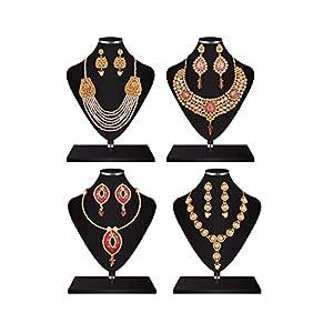 Designer Heavy Pearl Kundan Jewellery Sets