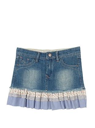 Pepe Jeans London Falda Cootie (Azul)
