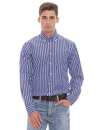 Gant Camisa Rayas (Azul)