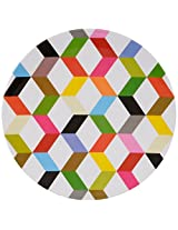 French Bull -  Melamine Serving Platter - 15-1/2-Inch Round Serving Tray - for Indoor and Outdoor Entertaining - Ziggy