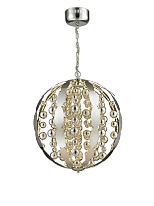 Artistic Lighting Light Spheres Collection Large LED Pendant, Polished Chrome