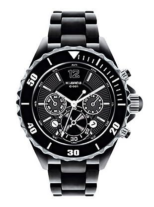 K&BROS 9429-1 / Reloj de Caballero  con brazalete metálico Negro