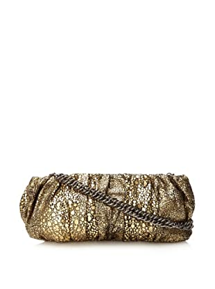 Inge Christopher Women's Emma Facile Clutch (Black/Gold)