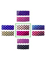 iOna Beauty Essentials Woman Tic Tac Polka Type Beauty Hair Pins Pink n Beige 2