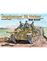 Squadron Signal Publications Jagdpanzer 38 Hetzer Walk Around Book