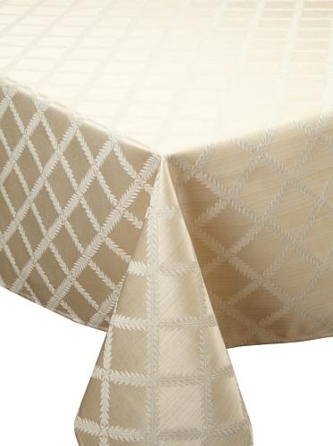 Lenox Laurel Leaf Tablecloth (Ivory)